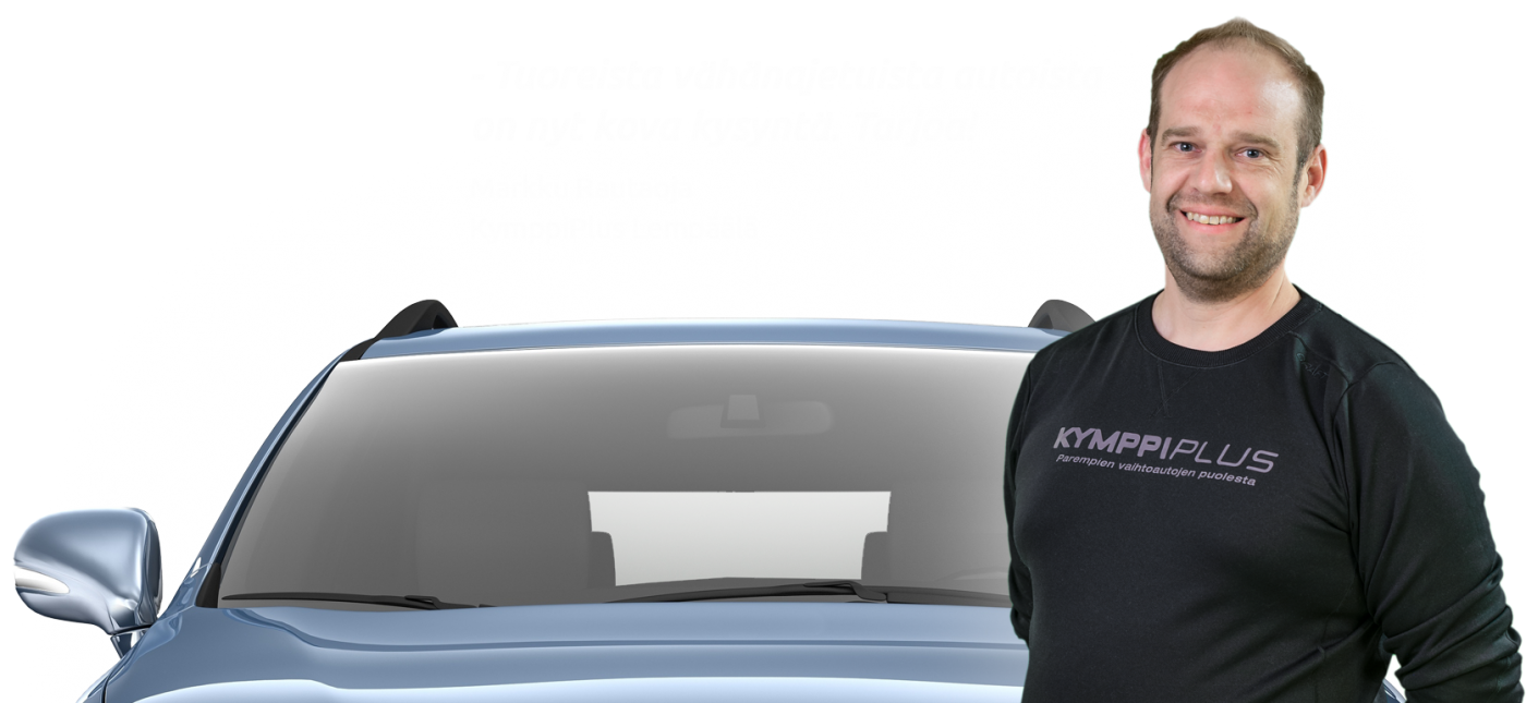 Ostamme autosi!